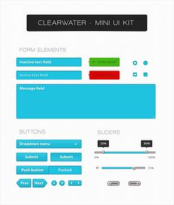Clearwater Mini UI Kit